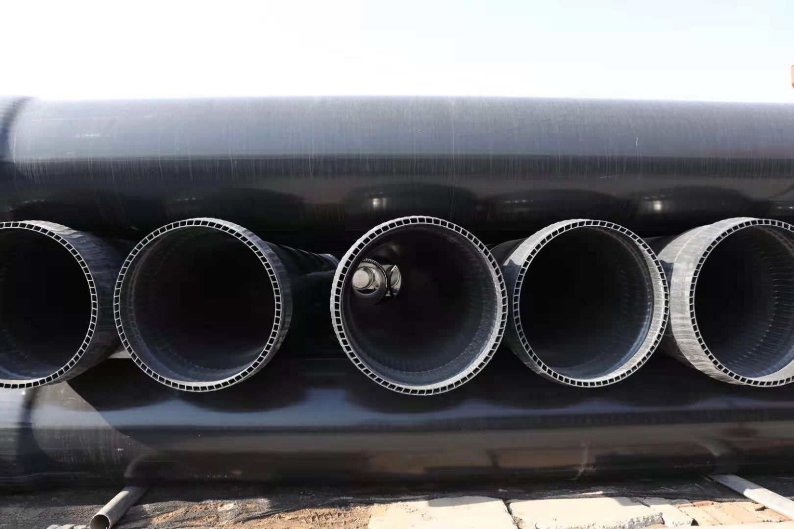 吉安衡水PVC-U双层轴向中空壁管厂家