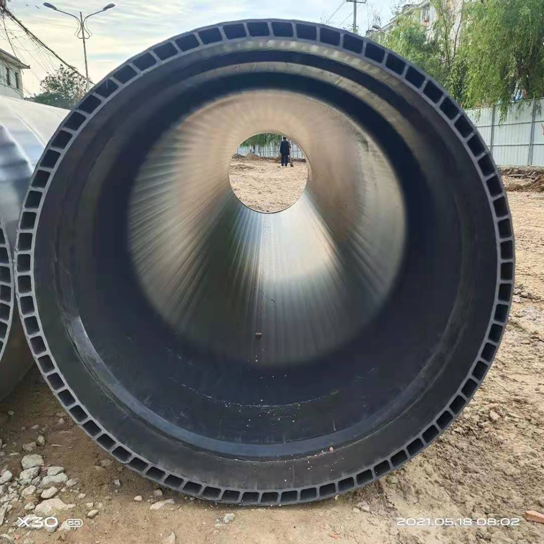 平原PVC轴向中空壁