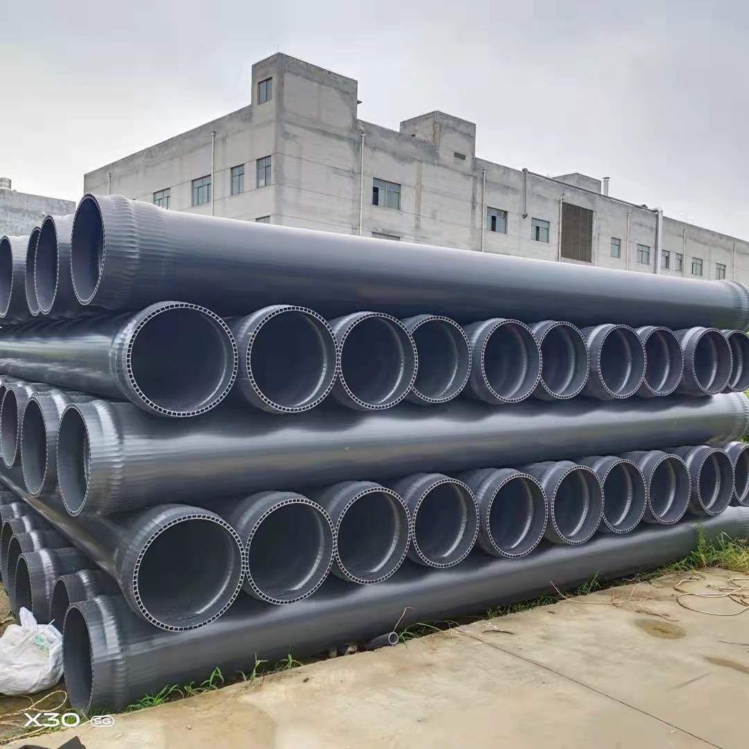 乐山海南PVC双层轴向中空壁厂家直销-质保50年