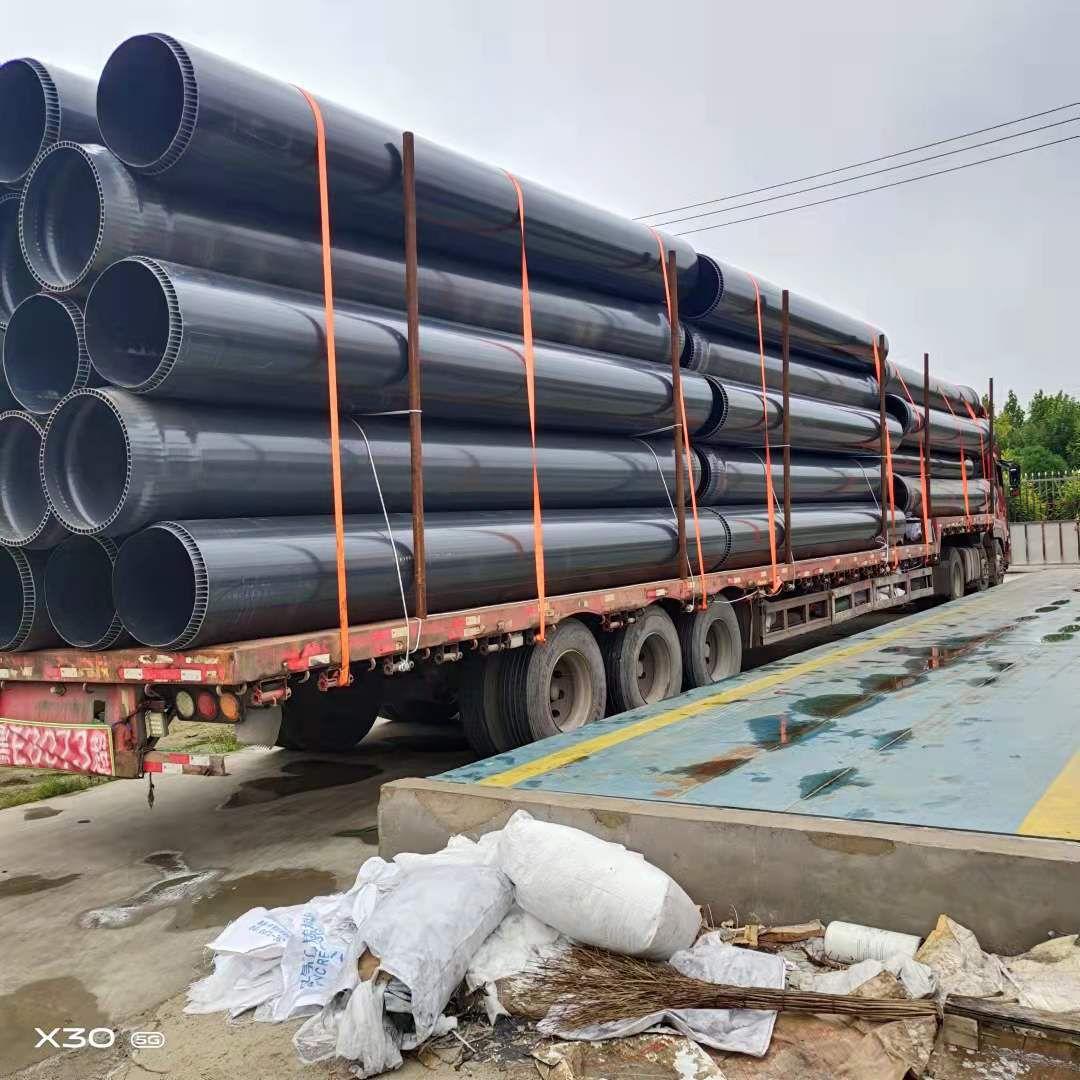 乐山江西、南昌PVC双层轴向中空壁厂家直销-质保50年